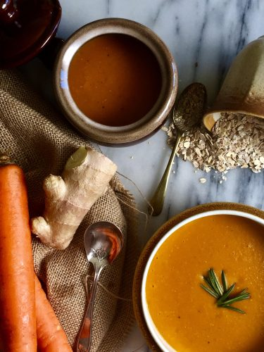 Dairy Free Carrot Soup