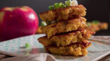 apple potato fritters
