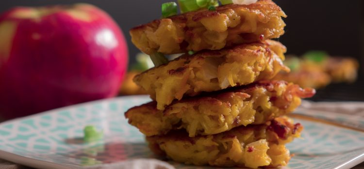 apple potato fritters