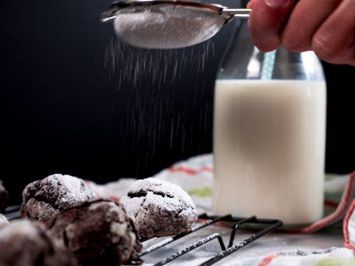 Crinkle Cookies