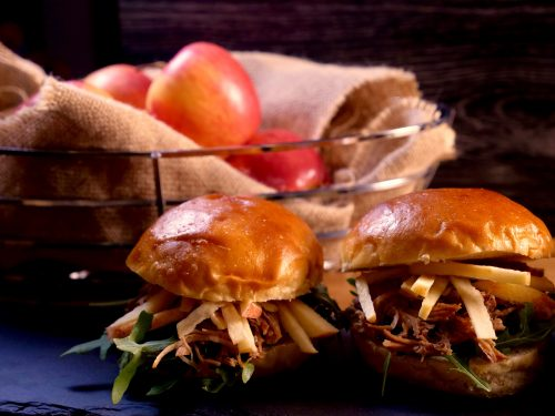 Joyce of Cooking Apple pulled pork sandwiches