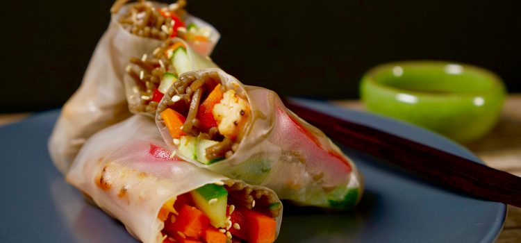 Joyce of Cooking - Vietnamese Salad Rolls