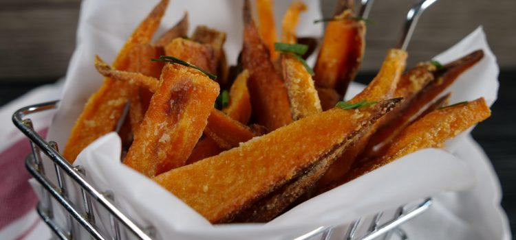 the crispiest sweet potato fries