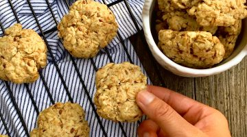 Bone Broth Oatmeal Cookies