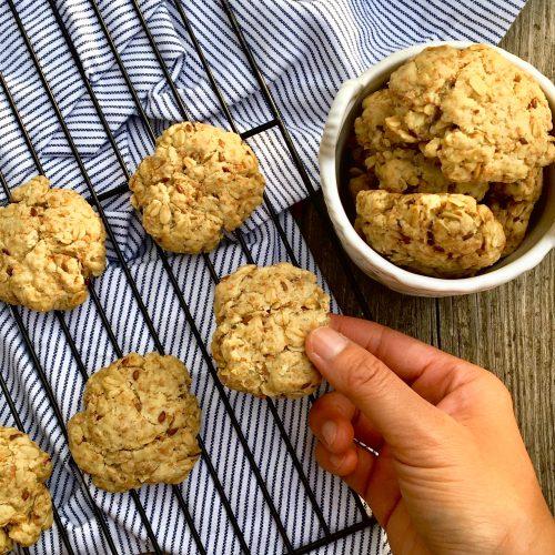 Bone Broth Oatmeal Cookies