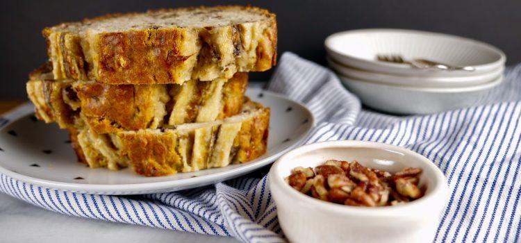 The most Delicious banana bread recipe