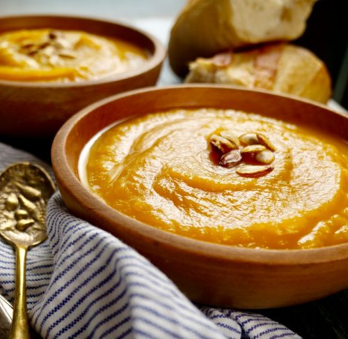 8 Minute Instant Pot Butternut Squash Soup