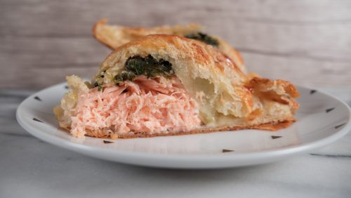 Salmon Wellington Recipe