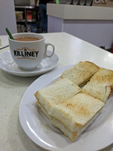 Killiney Kaya Toast Singapore