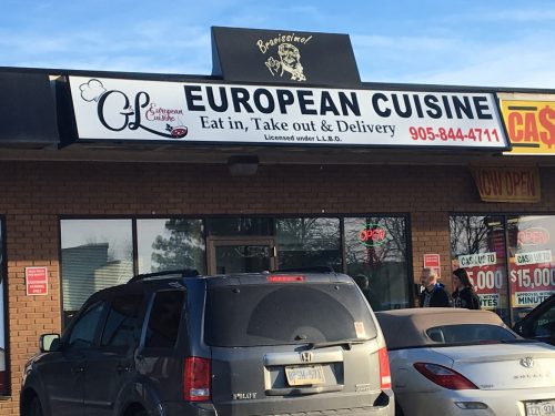 G&L European Cuisine Oakville