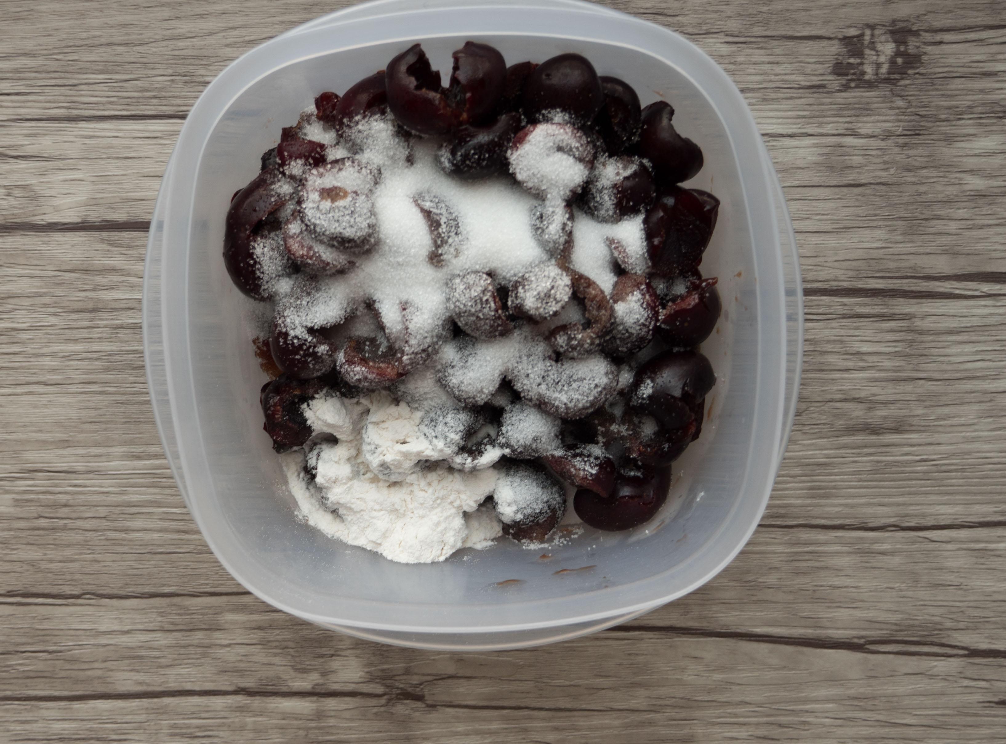 home made cherry cobbler recipe