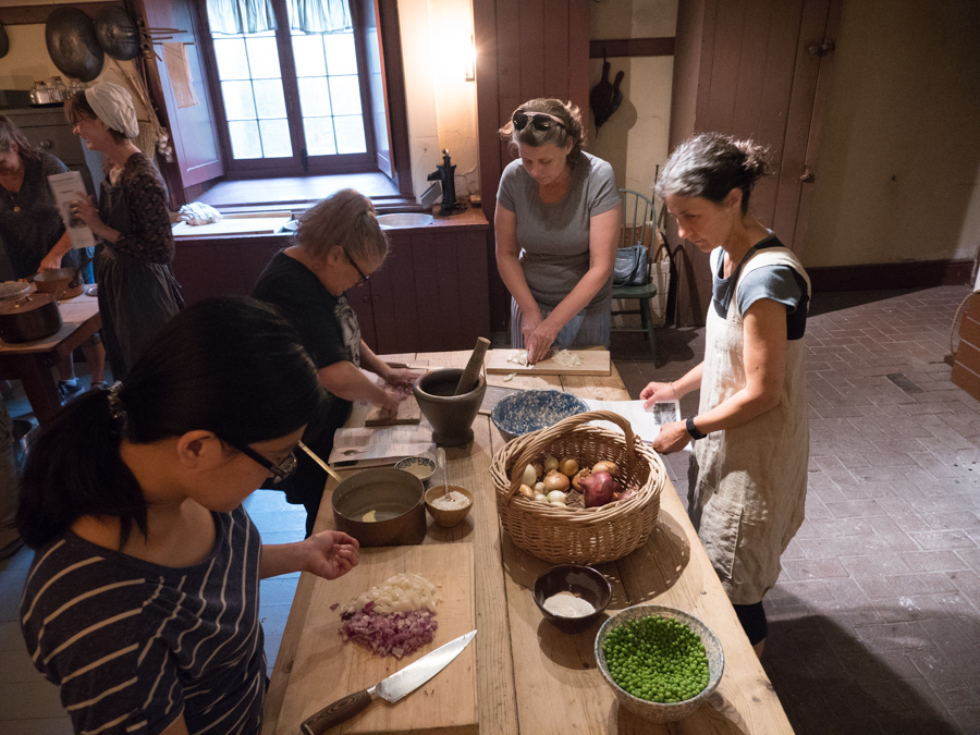 Soup Making Class Dundurn Castle