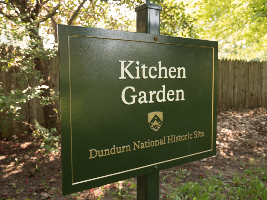 Kitchen Garden at Dundurn Castle